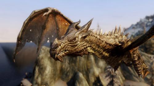 スカイリムのDLCで登場するドラゴンのIDと基本値