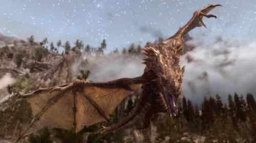 スカイリムのユニークドラゴンのID