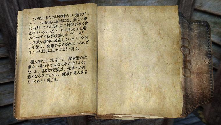 錬金術師の日記